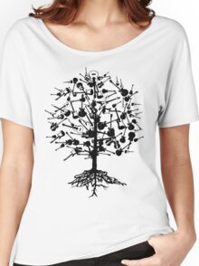 Guitars Tree Roots Women's Relaxed Fit T-Shirt