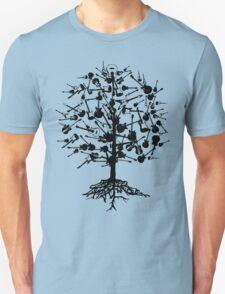 Guitars Tree Roots T-Shirt