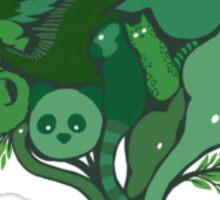 Animal Tree Sticker