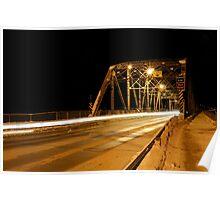Redwood Bridge Looking East Poster