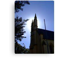 Whittlesea church tower Canvas Print