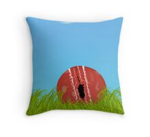 Battered, bruised & left alone Throw Pillow