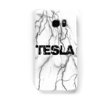 Tesla lightning Samsung Galaxy Case/Skin