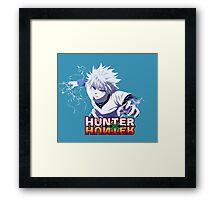 Kirua - Hunter x Hunter Framed Print