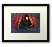 The Gentleman Cannibal Framed Print