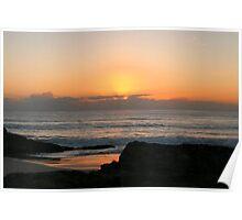 Currumbin Beach Sunrise Poster