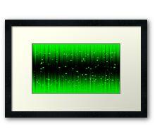 Space Invaders Matrix Framed Print