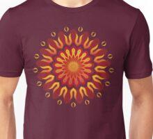 Fire Sunflower Unisex T-Shirt