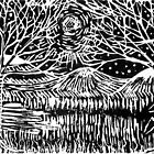 Linocut Print by Catherine  Howell