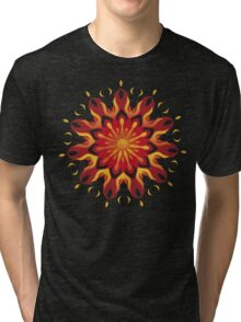 Fire Petals Tri-blend T-Shirt
