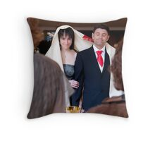 All going according to plan Throw Pillow
