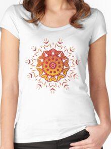 Fire Garden Women's Fitted Scoop T-Shirt