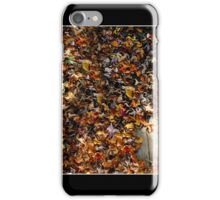 A Rustling of Leaves Poster iPhone Case/Skin