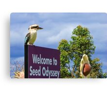 Seed Odyssey Canvas Print
