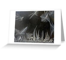 ICE CRYSTAL FANTASY Greeting Card