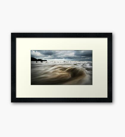 Immerse Yourself Framed Print