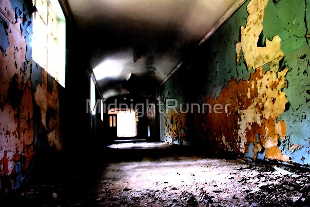 Lost in a sea of Colours - Severalls Asylum by MidnightRunner