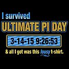 Pi Day Survivor by fishbiscuit