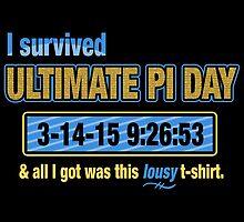 Pi Day Survivor by fishbiscuit
