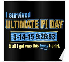 Pi Day Survivor Poster