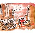 apocalypse red by Tristan Klein