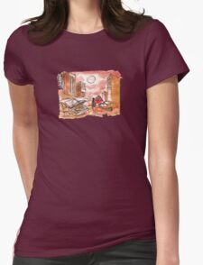 apocalypse red Womens Fitted T-Shirt