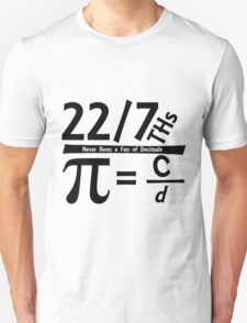 Fun for Pi Day Unisex T-Shirt