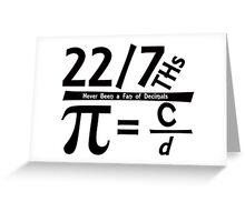 Fun for Pi Day Greeting Card