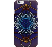 Metatrons Cube #1 iPhone Case/Skin