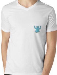 Gold tooth flasher elephant man Mens V-Neck T-Shirt