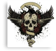 Death Ride Canvas Print