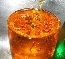 Orange Splash! by Lilphotographer