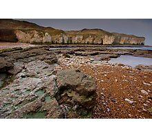 North Landing, Flamborough Photographic Print
