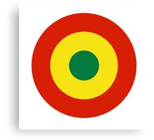Bolivian Air Force - Roundel Canvas Print
