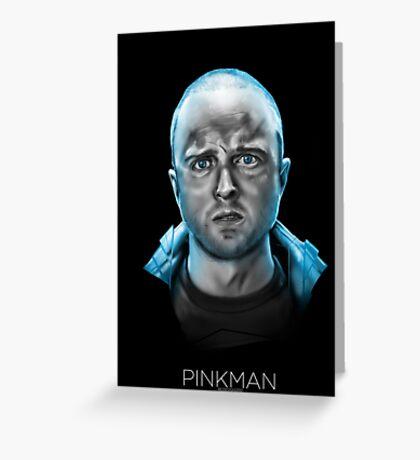Pinkman Greeting Card
