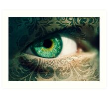 An Eye for Art Art Print