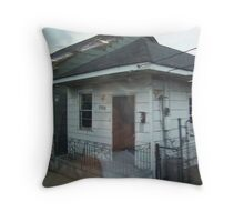 Lower 9th Ward Throw Pillow