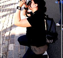 Jen in Action! by abfabphoto