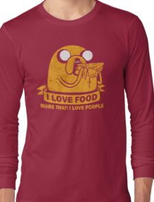 Food I love the Most Long Sleeve T-Shirt