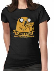 Food I love the Most Womens Fitted T-Shirt