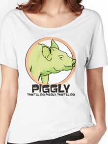 Piggly (also known as Piggly 3) Women's Relaxed Fit T-Shirt