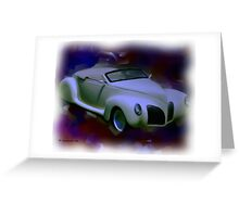 39' Lincoln Zephyr Greeting Card