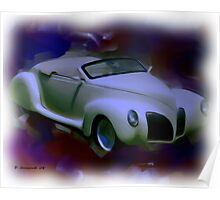39' Lincoln Zephyr Poster