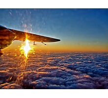 Trislander Sunset Photographic Print