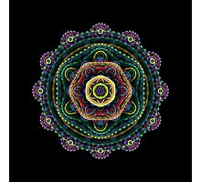 Surreal fractal 3D mandala Photographic Print