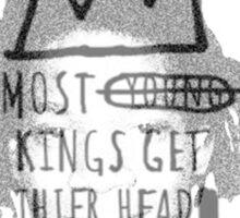 king of the art Sticker