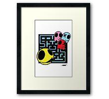 Pacman by ArteCita Framed Print