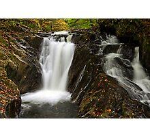 Falls Along Waterman Brook - Close Up Photographic Print