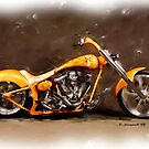 Nice Custom Low Ride Bike... by ezcat