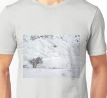 Scottish Winter Scene Unisex T-Shirt
